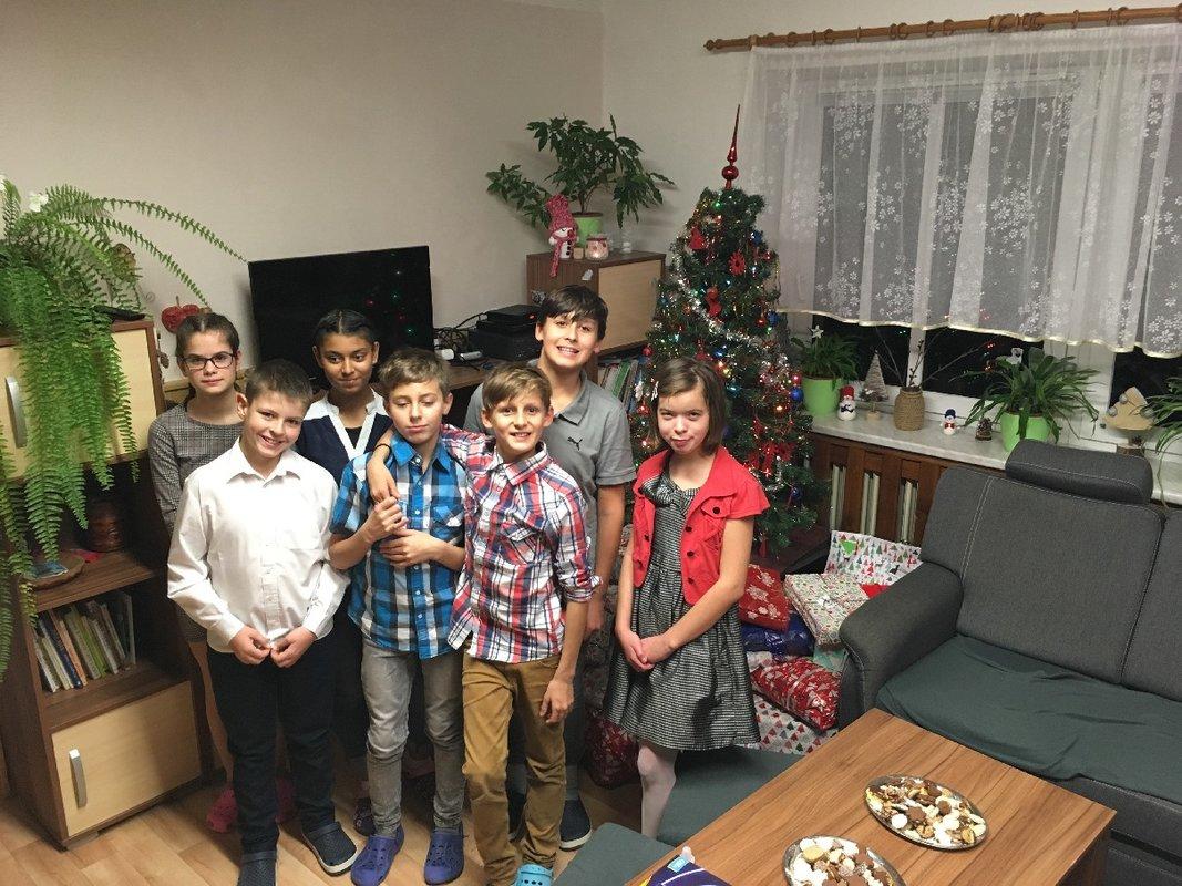 Vánoční návštěvy v dětských domovech