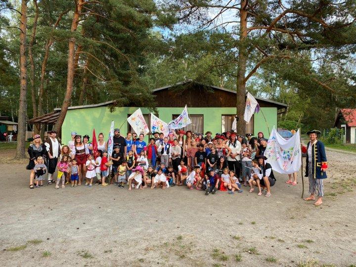 První letní tábor nadace Srdce na dlani